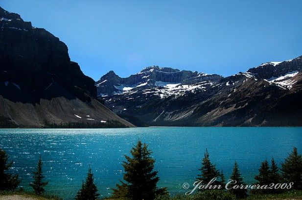 Foto das Canadian Rockies.