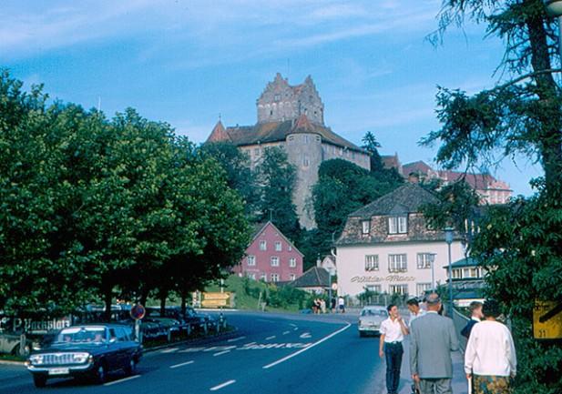 Foto do Old Castle de Meersburg.
