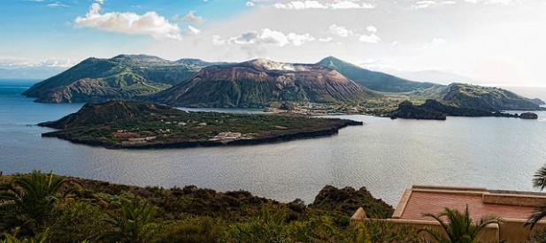 Foto da Aeolian Islands em Itália.