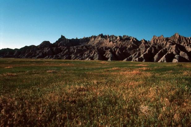 Foto do Badlands National Park E25.