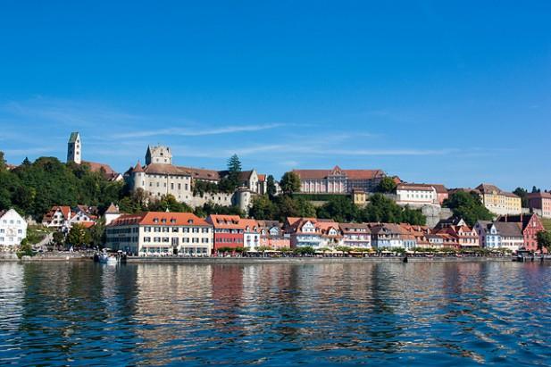 Foto de Meersburg, Lago Constance, Alemanha.