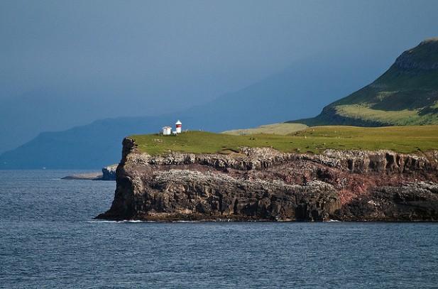 Foto de casa nas Ilhas Faroé.