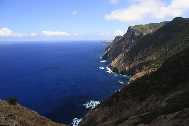 Foto de Porto da Cruz da montanha.
