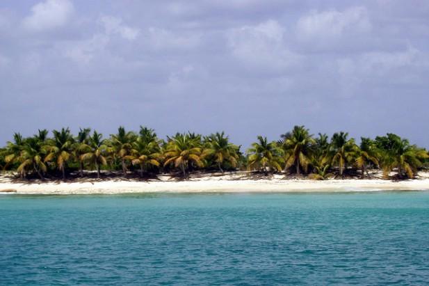 Foto da Ilha de Santa Catalina em Punta Cana.