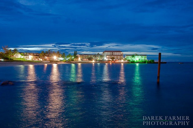Foto das Bahamas è noite.