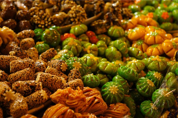 Foto de fruta de Marraquexe.