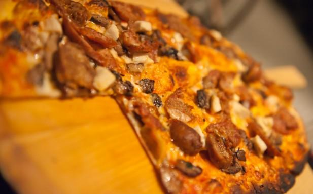 Foto de pizza italiana.