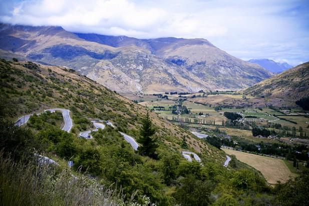 Foto de montanhas.
