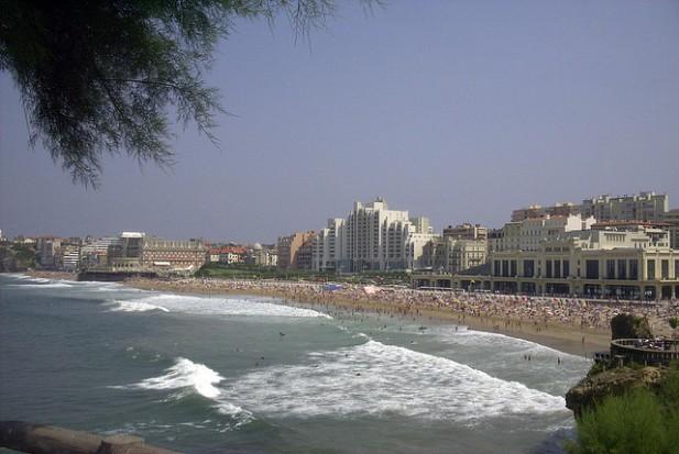 Praia Grande, Biarritz.