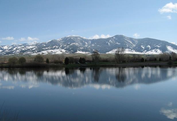Vista de Bozeman, Montana.