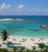 Paradise beach, Paradise Island, Bahamas.