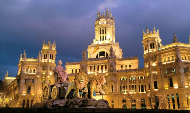 Plaza-de-Cibeles-Madrid-Spain