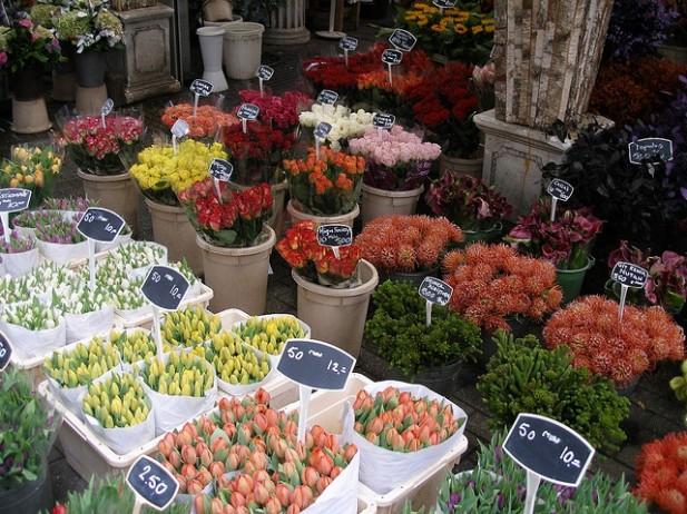 Floating Flower Market