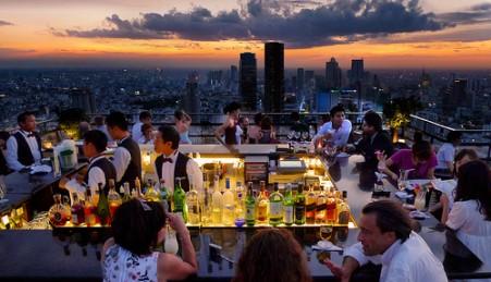 Vertigo Grill & Moon Bar – Banguecoque, Tailândia