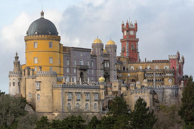Palácio Nacional da Pena, Sintra (foto: CEphoto, Uwe Aranas)