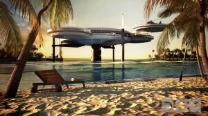 Hotel sub-aquático (foto: Deep Ocean Technology)