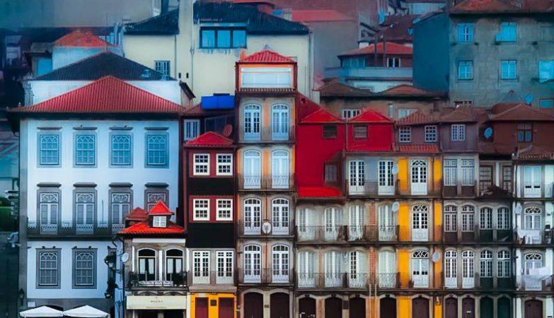 As cores da Ribeira, no Porto
