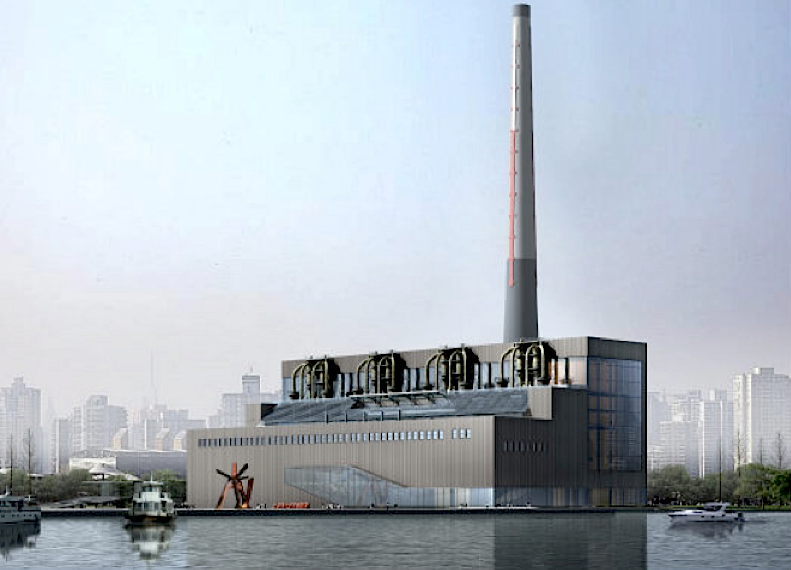 Central Elétrica de Arte em Shanghai