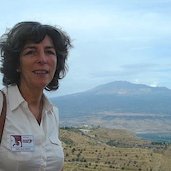 A arqueóloga Inês Vaz Pinto