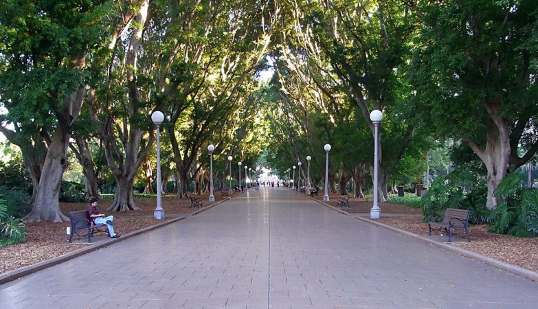 O parque mais antigo da Austrália é também uma das melhores apostas para relaxar na cidade