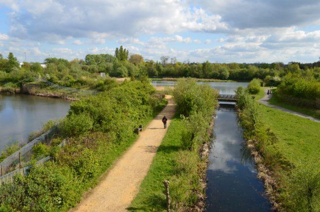 Pense no que é essencial no London Wetlands Centre