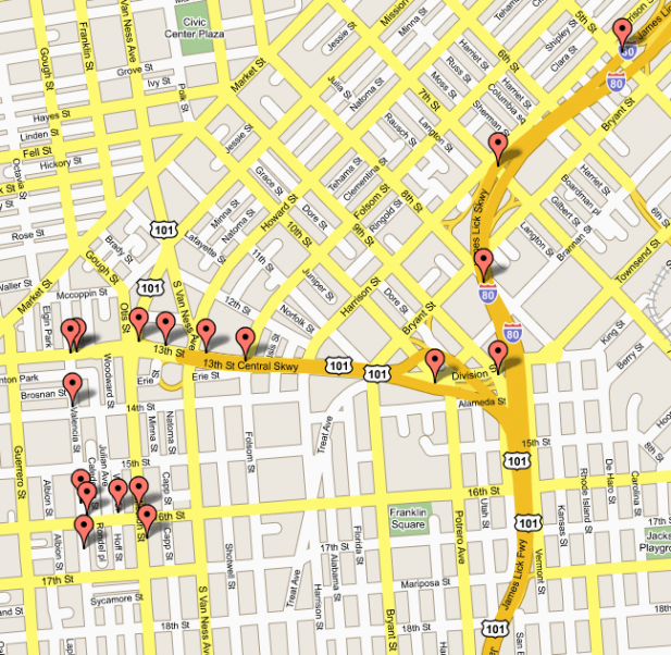 google-maps-track