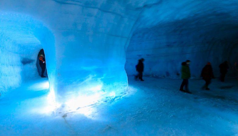 A IceRave vai ter lugar numa caverna num glaciar em Langjokull