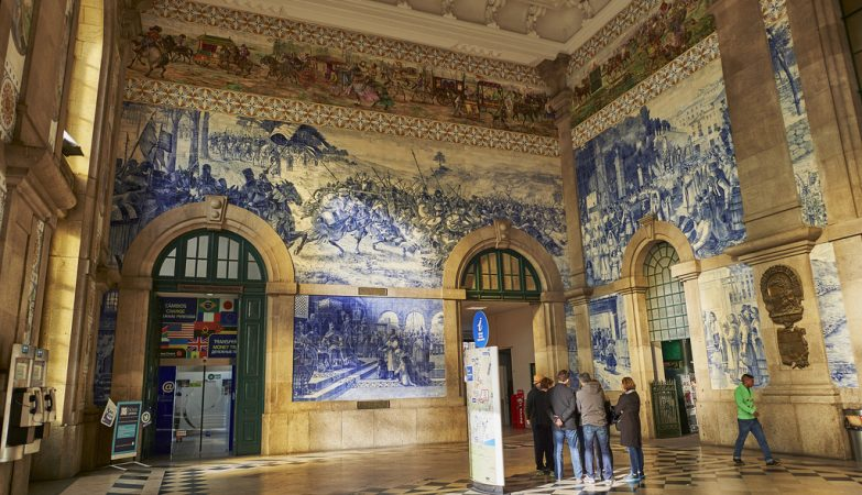 Estação de São Bento, no Porto