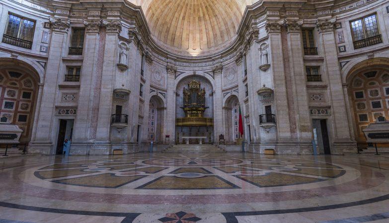 A Igreja de Santa Engrácia, Panteão Nacional, em Lisboa