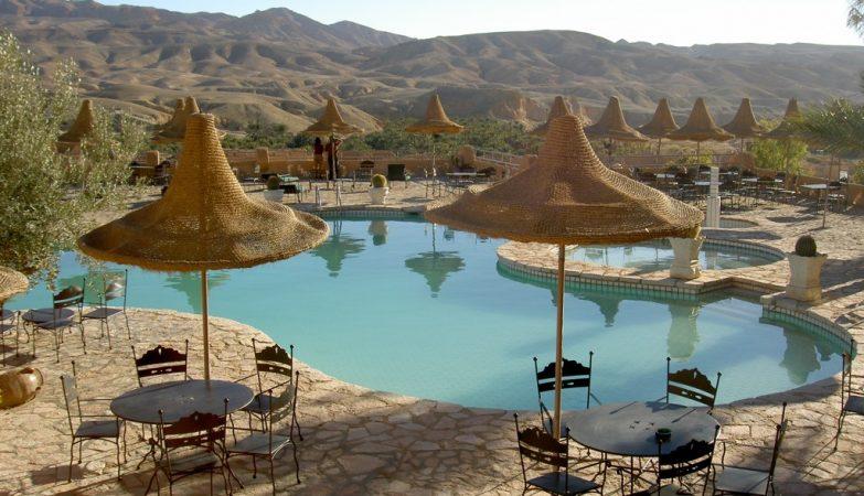 Hotel Tamerza, Tunisia
