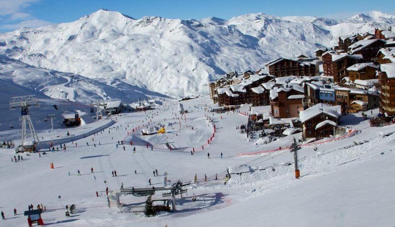 A estância de esqui da Val Thorens, nos Alpes franceses