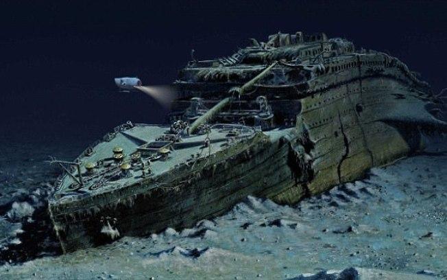 A viagem ao Titanic, será feita em um dispositivo submersível de titânio e fibra de carbono
